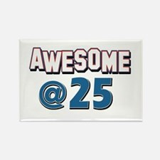 Awesome at 25 Rectangle Magnet