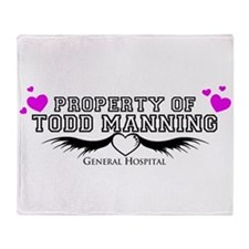 Property Of Todd Throw Blanket