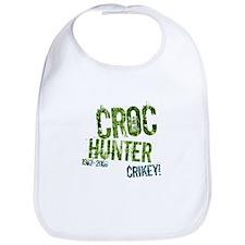 Crikey Crocodile Hunter Bib