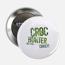 Crikey Crocodile Hunter Button