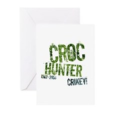Crikey Crocodile Hunter Greeting Cards (Package of