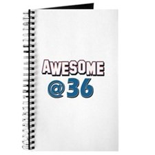 Awesome at 36 Journal