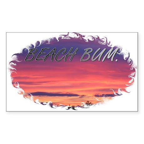 Beach Bum Sunrise Sticker