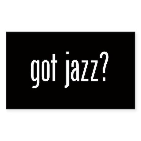 Got Jazz? Oval Sticker