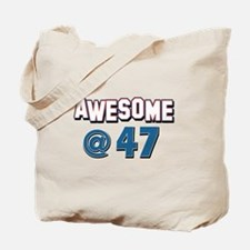 Awesome at 47 Tote Bag