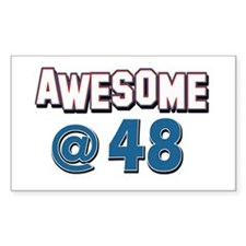Awesome at 48 Decal