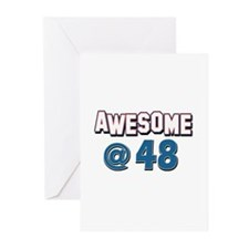 Awesome at 48 Greeting Cards (Pk of 20)
