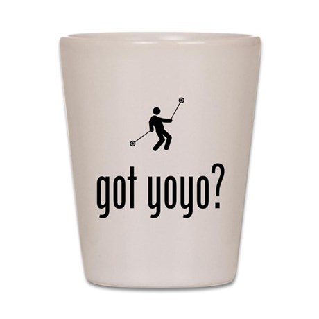 Yo-Yo Shot Glass