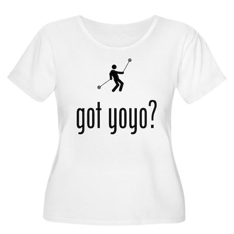 Yo-Yo Women's Plus Size Scoop Neck T-Shirt