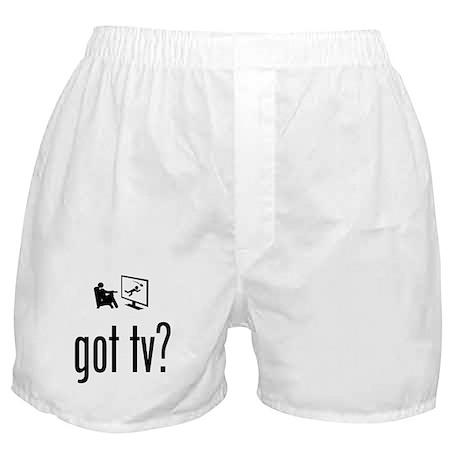 TV Watching Boxer Shorts