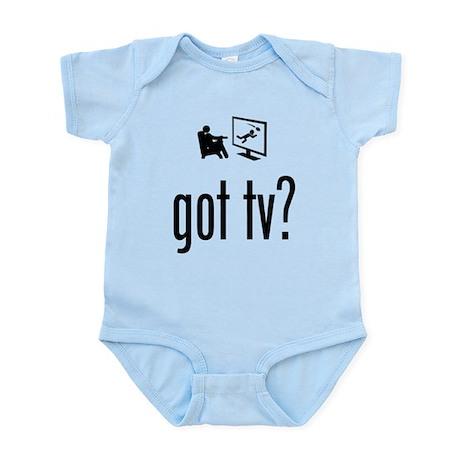 TV Watching Infant Bodysuit