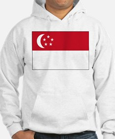 Singapore Flag Picture Hoodie