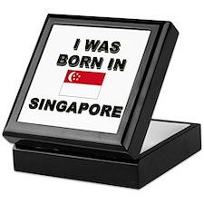 I Was Born In Singapore Keepsake Box