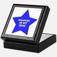 Maggie Is My Idol Keepsake Box