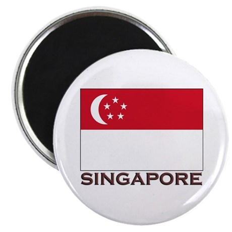 Singapore Flag Stuff Magnet