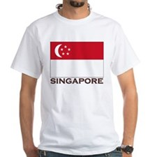 Singapore Flag Stuff Shirt