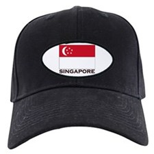 Singapore Flag Gear Baseball Hat