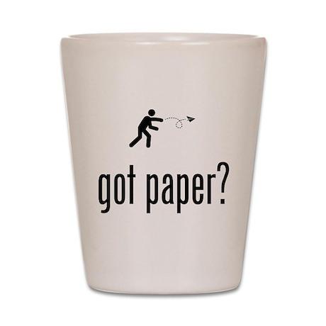 Paper Airplane Shot Glass