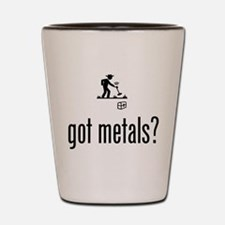Metal Detecting Shot Glass