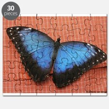 Big Blue Butterfly Puzzle