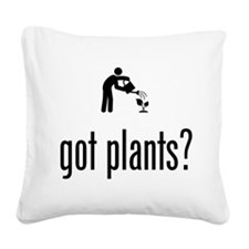 Gardening Square Canvas Pillow