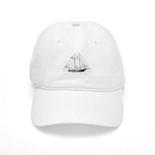 American Fishing Schooner Baseball Cap