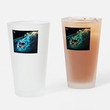 stocking Drinking Glass