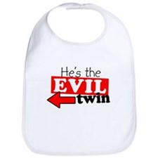 He Evil Twin Bib