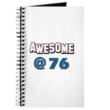 Awesome at 76 Journal