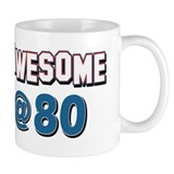 80th birthday Small Mugs (11 oz)