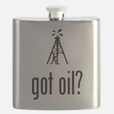 Oil Driller Flask