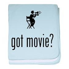 Movie Director baby blanket