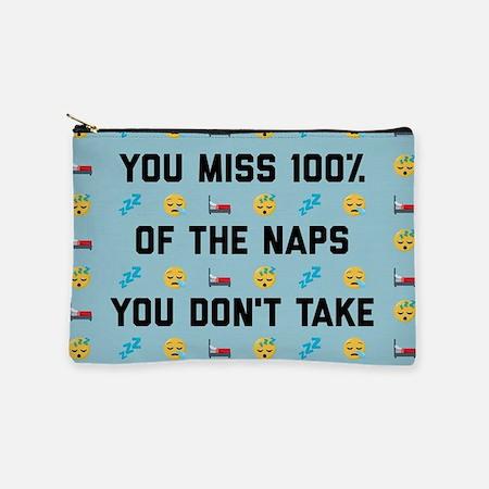 You Miss 100% Naps Makeup Bag