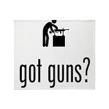 Gunsmith Throw Blanket