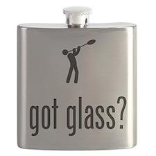 Glass Making Flask