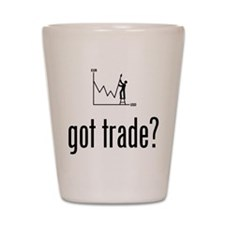 Forex / Stock Trader Shot Glass