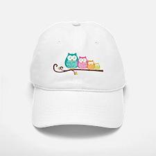 Owl family Baseball Baseball Cap