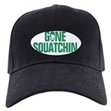 Gone squatchin hats Black Hat