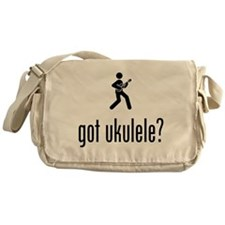 Ukulele Player Messenger Bag