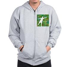 Disc Golf #1 Zip Hoodie