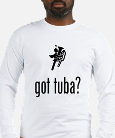 Tuba Player Long Sleeve T-Shirt