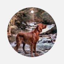 Irish Setter Art Ornament (Round)