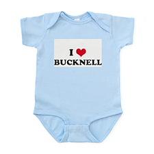 I HEART BUCKNELL  Infant Creeper