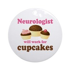 Neurologist Funny Ornament (Round)