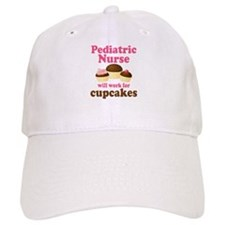 Pediatric Nurse Funny Baseball Cap