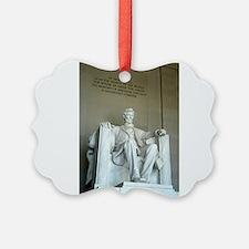 Cute Abraham lincoln memorial Ornament