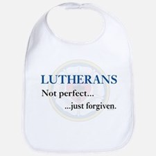 Lutherans Not Perfect Just Forgiven Bib