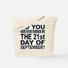 Do You Remember 921 / Julio Store Tote Bag