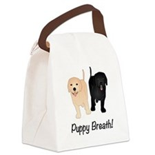 Puppy Breath!! Canvas Lunch Bag