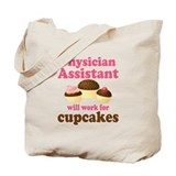 Physician assistant Canvas Totes